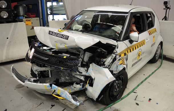 Audi Q2, Ford Edge şi Hyundai Ioniq au primit 5 stele la testele EuroNCAP. Suzuki Ignis, 3 stele in testul standard - Poza 19