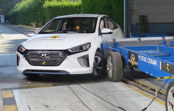 Audi Q2, Ford Edge şi Hyundai Ioniq au primit 5 stele la testele EuroNCAP. Suzuki Ignis, 3 stele in testul standard - Poza 14