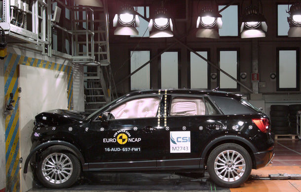 Audi Q2, Ford Edge şi Hyundai Ioniq au primit 5 stele la testele EuroNCAP. Suzuki Ignis, 3 stele in testul standard - Poza 2
