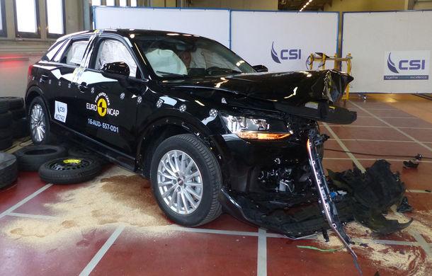 Audi Q2, Ford Edge şi Hyundai Ioniq au primit 5 stele la testele EuroNCAP. Suzuki Ignis, 3 stele in testul standard - Poza 3