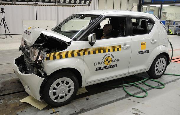 Audi Q2, Ford Edge şi Hyundai Ioniq au primit 5 stele la testele EuroNCAP. Suzuki Ignis, 3 stele in testul standard - Poza 17