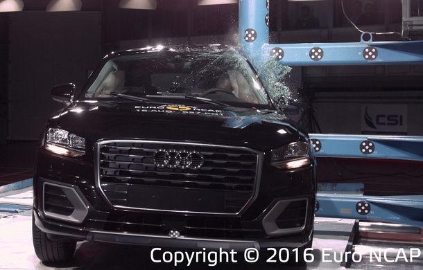 Audi Q2, Ford Edge şi Hyundai Ioniq au primit 5 stele la testele EuroNCAP. Suzuki Ignis, 3 stele in testul standard - Poza 4