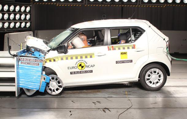 Audi Q2, Ford Edge şi Hyundai Ioniq au primit 5 stele la testele EuroNCAP. Suzuki Ignis, 3 stele in testul standard - Poza 18