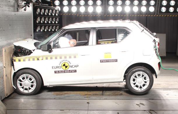Audi Q2, Ford Edge şi Hyundai Ioniq au primit 5 stele la testele EuroNCAP. Suzuki Ignis, 3 stele in testul standard - Poza 16