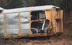 Daună totală: 97 de mașini BMW, irecuperabile după ce trenul care le transporta a deraiat în SUA (VIDEO)