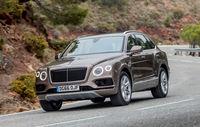 Test drive Bentley Bentayga