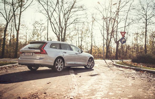 Test drive Volvo V90