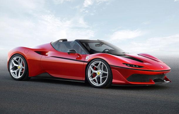 Ferrari face o dedicație fanilor din Japonia: italienii revin la caroseria targa cu noul J50 - Poza 1