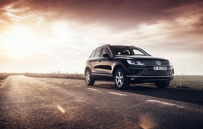 Test drive Volkswagen Touareg facelift (2014-2018)