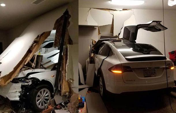 După Toyota, și mașinile Tesla sunt acuzate că accelerează singure: un Model X a ajuns în sufrageria proprietarului. Tesla exclude defecțiunile - Poza 1