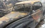 Drama unui colecționar de mașini: 70 de automobile clasice s-au făcut scrum în garajul unui suedez