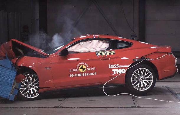 Ford reacționează după eșecul de la EuroNCAP: Mustang va primi sistem de frânare automată de urgență și pe versiunea europeană - Poza 1