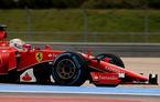 Vettel, protagonistul unui accident în testele cu pneuri de ploaie pentru 2017 (video)