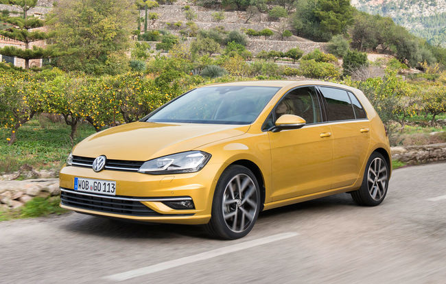 Test drive Volkswagen Golf 7 facelift