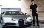 Cristiano Ronaldo testează noul Bugatti Chiron înainte de a ajunge la primii săi clienți (VIDEO)
