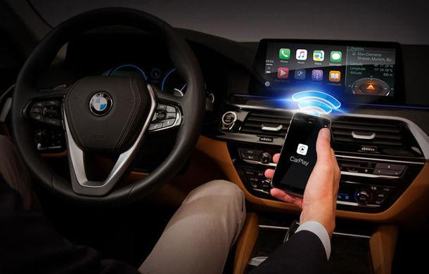 Noul BMW Seria 5 este prima mașină de serie care oferă conexiune Apple CarPlay fără fir - Poza 1