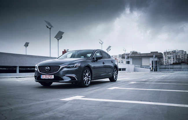 Test drive Mazda 6 facelift
