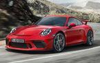 Porsche 911 GT3 facelift: motor de 4.0 litri și 500 CP disponibil cu cutie de viteze manuală