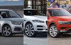 Finaliștii World Car of the Year 2017: Audi Q5, Jaguar F-Pace și VW Tiguan se bat pentru trofeu