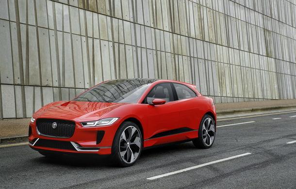 Jaguar aduce tehnologia sa electrică în stradă: SUV-ul I-Pace s-a plimbat prin Londra pentru a promova rularea cu zero emisii - Poza 4