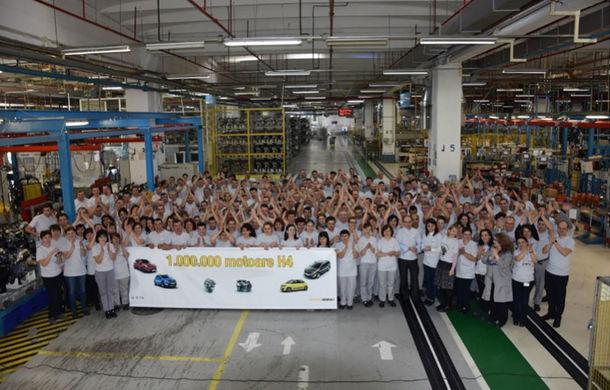 Dacia desface șampania: a produs un milion de motoare 0.9 TCe de 90 CP la uzina din Mioveni - Poza 1