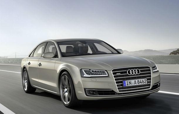 Noua generație Audi A8 se lansează în 11 iulie: limuzina ar putea primi propulsie hibridă - Poza 1