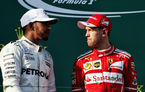 Vettel și Hamilton speră să lupte roată la roată pentru titlul mondial în 2017