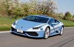 Poliția italiană mai primește un Lamborghini Huracan: 610 cai putere și un portbagaj refrigerat pentru transport de organe