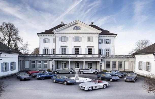 Comoara din castelul elvețian: o duzină de mașini clasice care se vor vinde pentru câteva milioane de euro - Poza 1