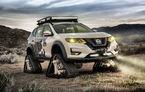 Nissan se pregătește de război: modelul X-Trail a primit șenile în SUA