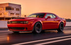 Până unde poate merge nebunia americanilor? Dodge Challenger SRT Demon este cea mai rapidă mașină din lume