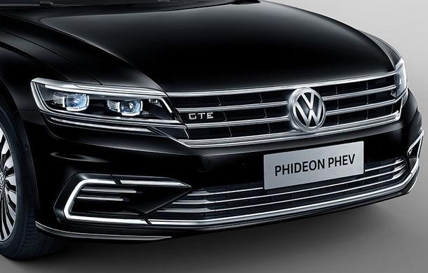 Cine mai are nevoie de Phaeton? Noul Volkswagen Phideon PHEV este o berlină cu aer premium și motor hibrid alimentat la priză - Poza 2