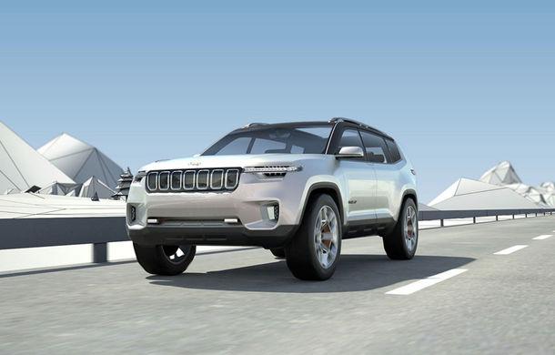 Jeep a dezvăluit conceptul Yuntu, un SUV care ne demonstrează cât de departe poate merge isteria ecranelor multimedia - Poza 1