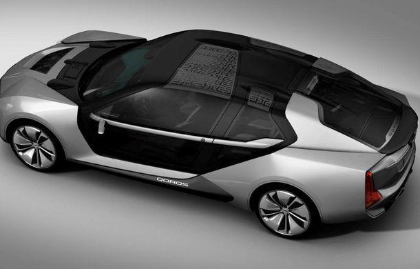 Ce se naște când amesteci designul chinezesc cu tehnologia suedeză: Qoros K-EV este un concept cu uși care se deschid ciudat, dar cu 870 de cai oferiți de Koenigsegg - Poza 5