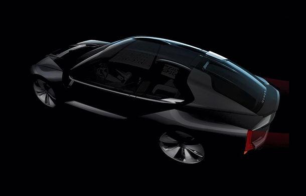 Ce se naște când amesteci designul chinezesc cu tehnologia suedeză: Qoros K-EV este un concept cu uși care se deschid ciudat, dar cu 870 de cai oferiți de Koenigsegg - Poza 9