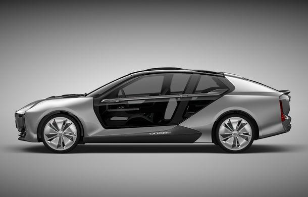 Ce se naște când amesteci designul chinezesc cu tehnologia suedeză: Qoros K-EV este un concept cu uși care se deschid ciudat, dar cu 870 de cai oferiți de Koenigsegg - Poza 3