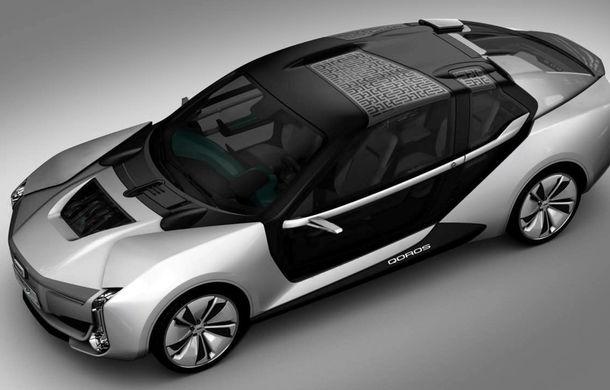 Ce se naște când amesteci designul chinezesc cu tehnologia suedeză: Qoros K-EV este un concept cu uși care se deschid ciudat, dar cu 870 de cai oferiți de Koenigsegg - Poza 2