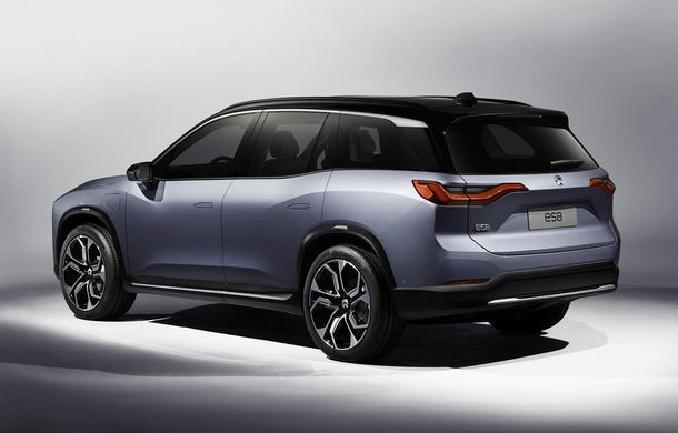 """Nio ES8: SUV electric cu 7 locuri la care vei putea schimba bateria """"printr-o experiență mai plăcută decât un plin de benzină"""" - Poza 3"""