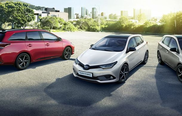 Toyota încearcă să reaprindă interesul publicului pentru Auris cu ediția specială Bi-tone - Poza 2