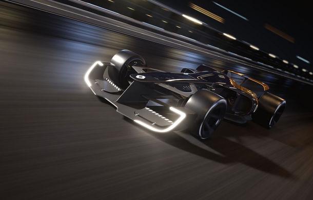 Formula 1 în 2027 în viziunea unui designer român de la Renault: monoposturi autonome cu propulsie electrică - Poza 5