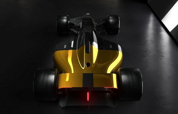 Formula 1 în 2027 în viziunea unui designer român de la Renault: monoposturi autonome cu propulsie electrică - Poza 3