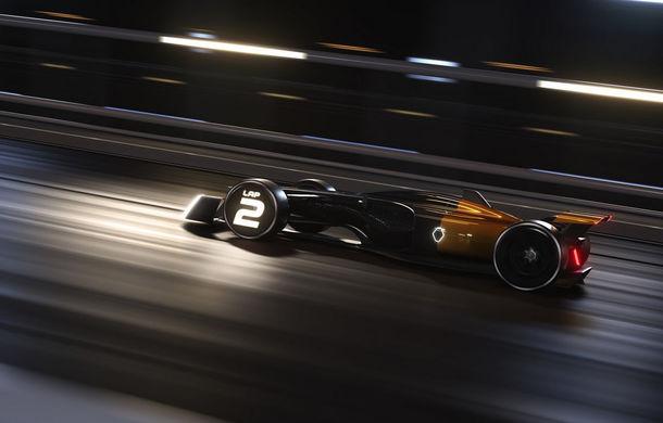 Formula 1 în 2027 în viziunea unui designer român de la Renault: monoposturi autonome cu propulsie electrică - Poza 7