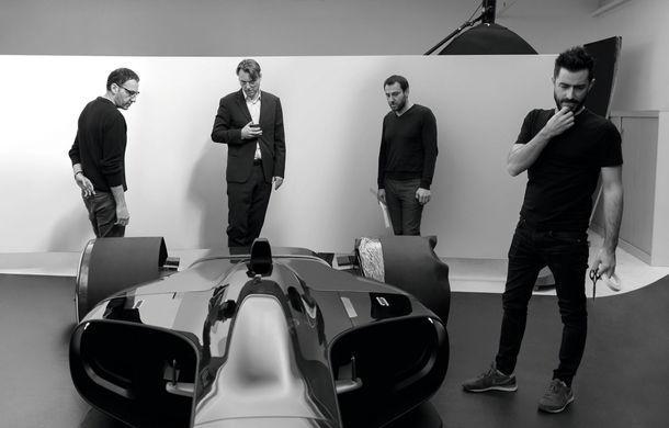 Formula 1 în 2027 în viziunea unui designer român de la Renault: monoposturi autonome cu propulsie electrică - Poza 10