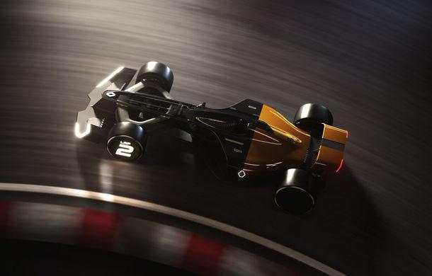 Formula 1 în 2027 în viziunea unui designer român de la Renault: monoposturi autonome cu propulsie electrică - Poza 8