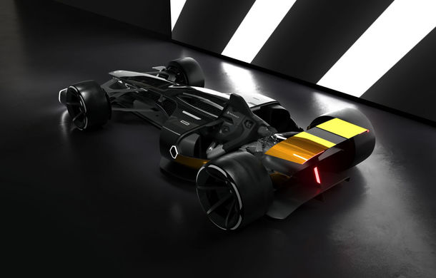 Formula 1 în 2027 în viziunea unui designer român de la Renault: monoposturi autonome cu propulsie electrică - Poza 2