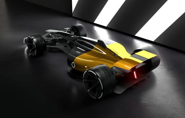 Formula 1 în 2027 în viziunea unui designer român de la Renault: monoposturi autonome cu propulsie electrică - Poza 1