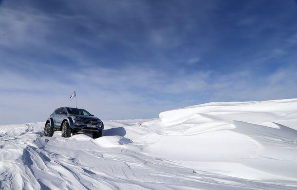 Un Hyundai Santa Fe și strănepotul exploratorului Ernest Shackelton au reușit să traverseze Antarctica - Poza 19