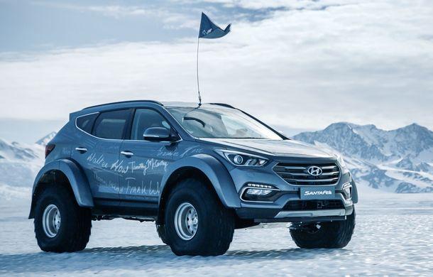 Un Hyundai Santa Fe și strănepotul exploratorului Ernest Shackelton au reușit să traverseze Antarctica - Poza 5