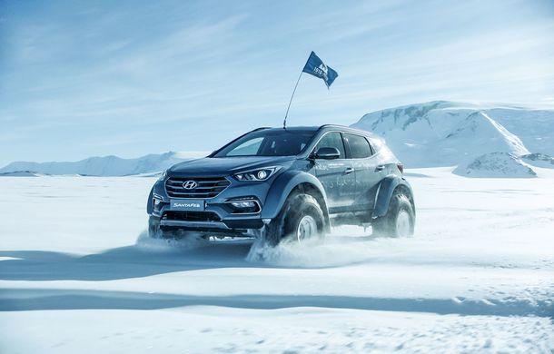 Un Hyundai Santa Fe și strănepotul exploratorului Ernest Shackelton au reușit să traverseze Antarctica - Poza 10