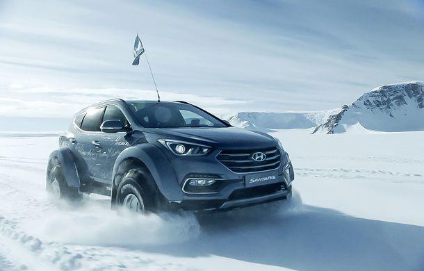 Un Hyundai Santa Fe și strănepotul exploratorului Ernest Shackelton au reușit să traverseze Antarctica - Poza 12